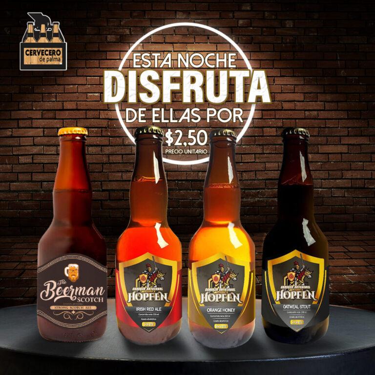 Cervecero de Palma anuncio